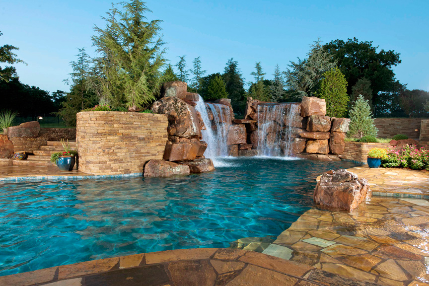 No Pool Cool Down With 14 Backyard Water Feature Ideas House Home
