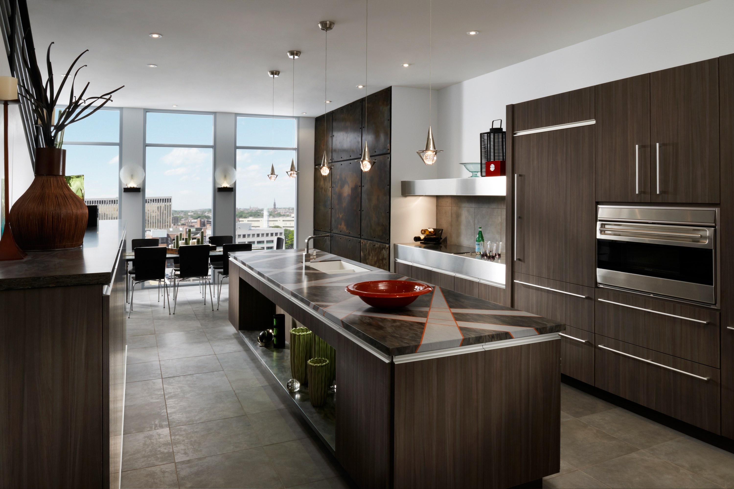 Exceptional Contemporary Kitchen Cabinetry St Louis Homes Lifestyles