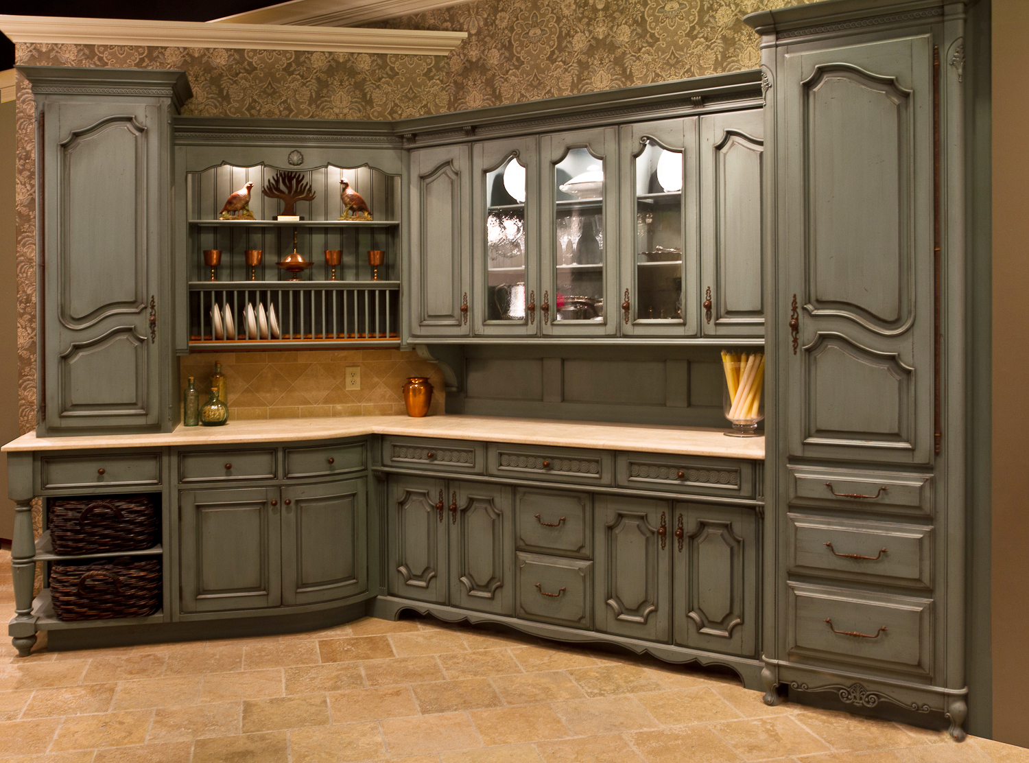 A Matter Of Taste ST LOUIS HOMES LIFESTYLES - Grey wood kitchen doors