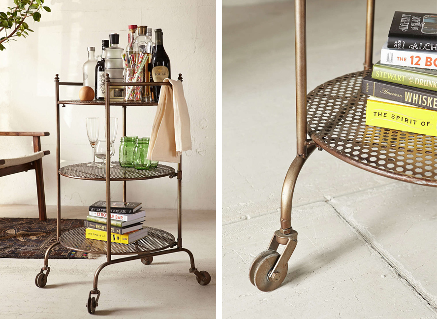 Friday Favorites: Bar Carts