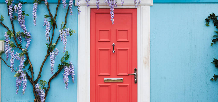 MOTM: Colorful Front Doors
