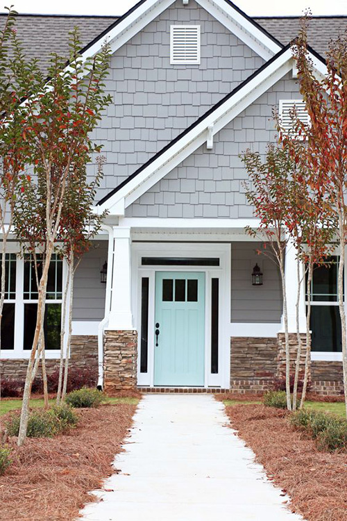 ... Giving Your Front Door A Much Needed Makeover. With A Few Modern  Tweaks, Youu0027ll Have An Eye Catching Entryway That Is Sure To Keep Up With  The Joneses.