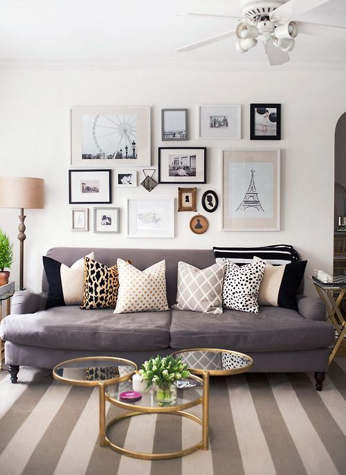 Glam Gallery Walls