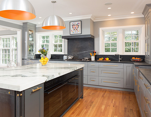 Clutter free kitchens st louis homes lifestyles - How to get more counter space in a small kitchen set ...