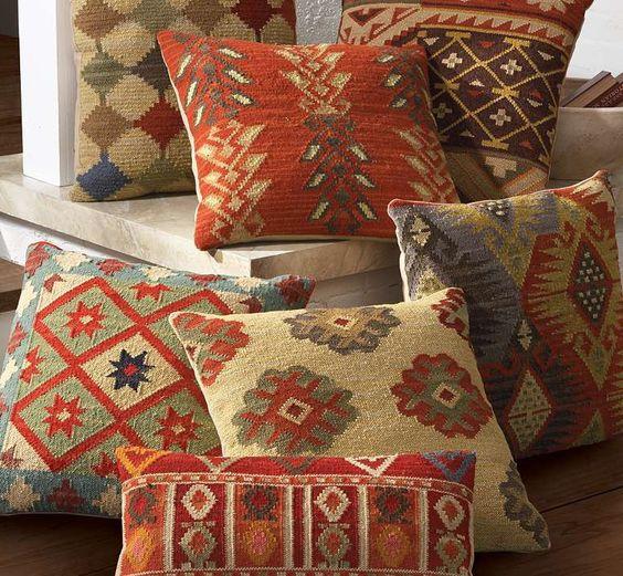 Thrifty Throw Pillows