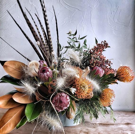 Reimagined Arrangements: Dried Flowers