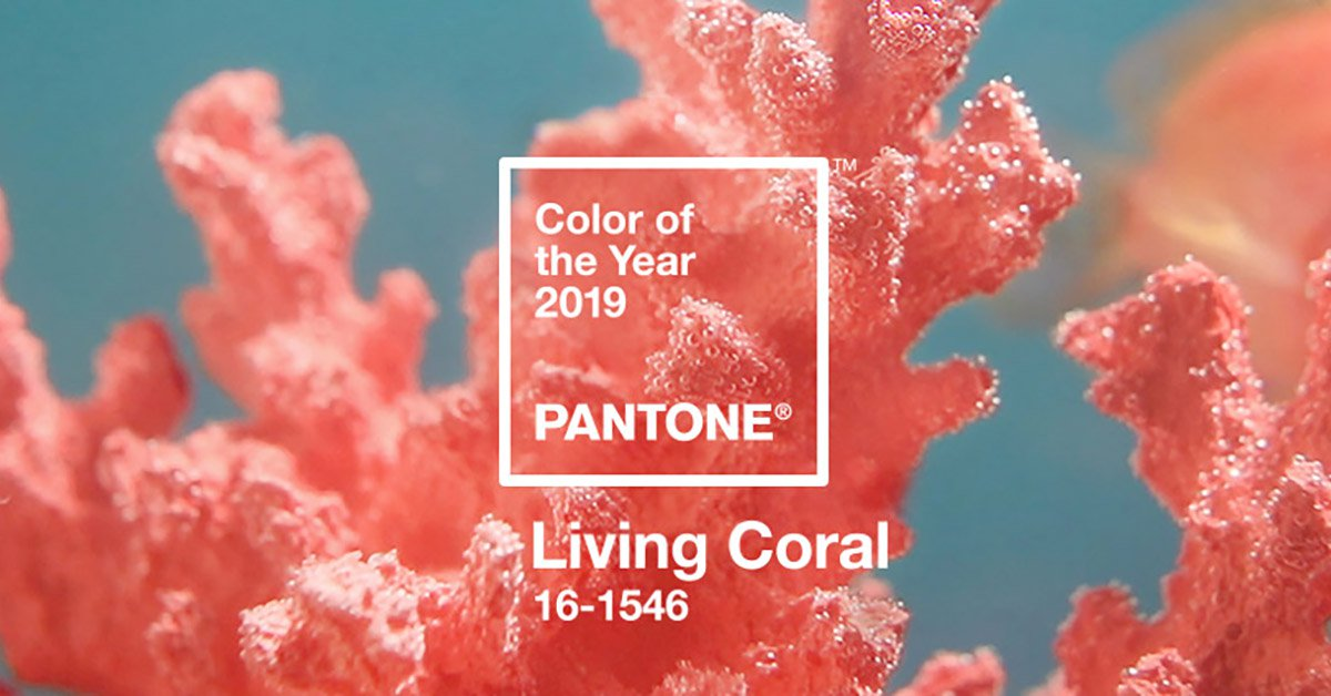 Living Coral - Pantone Color of the Year