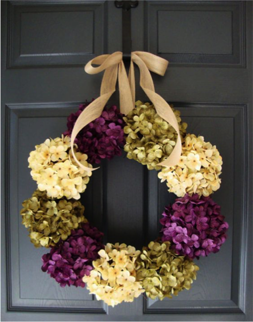 Up Your Front Door With A Clic Statement Wreath If You Are Looking For Some Spring Ready Inspiration Check Out These Seasonal Wreaths Below